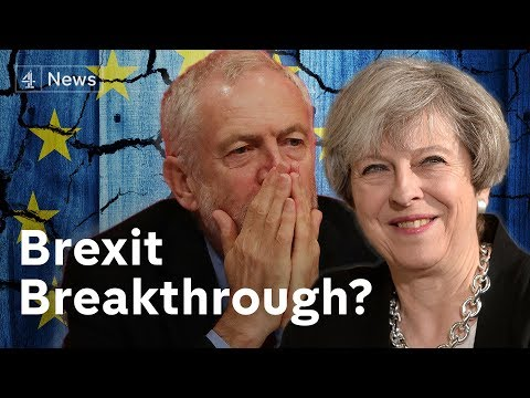 "Brexit withdrawal deal ""agreed in principle"""