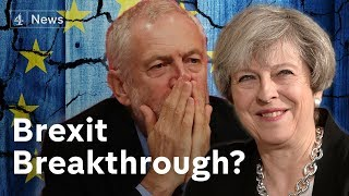 """Brexit withdrawal deal """"agreed in principle"""""""