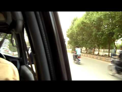 Hyderabad Sindh Pakistan Hotel Idris securitygate (24 secs) SAM 1185