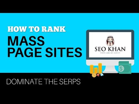 How to Rank Mass Page Sites - My Strategy for Ranking Lead Gen Sites