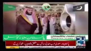 بالفيديو.. التليفزيون الباكستاني يرحب بولي العهد بشكل خاص - صحيفة صدى الالكترونية