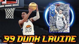 NBA 2K18 2K MT 99 DUNK SAPPHIRE ZACH LAVINE IS A BUDGET BEAST!! | NBA 2K18 MyTEAM GAMEPLAY