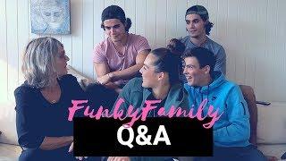 FUNKY FAM Q&A DEL 1 | FUNKYGINE