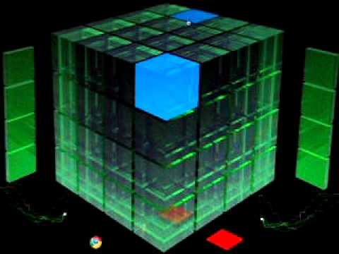 green cube dubstep - playing around with online music mixer - YouTube