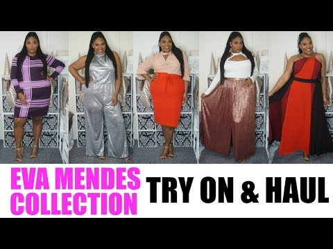 Eva Mendes for NY&C Curve Collection| Try On & Haul| Plus Size Fashion