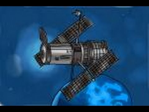 How to draw Hubble Space Telescope - YouTube