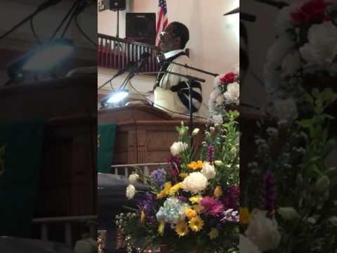 Rev. Dr. Daly Barnes Jr. Eulogy for William H. Bailey Sr.