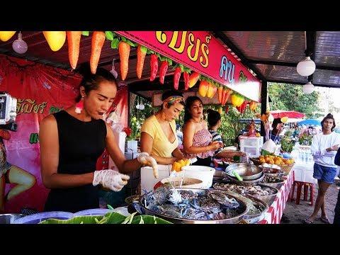 Spicy Seafood Salad Prachuap Khiri Khan Province Her Name Is Beer Thailand เจ้เบียร์ คนละยำ