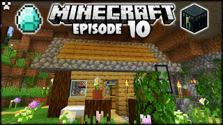 I Put My Minecraft Base Inside A CAVE! | Python Plays Minecraft Survival [Episode 10]