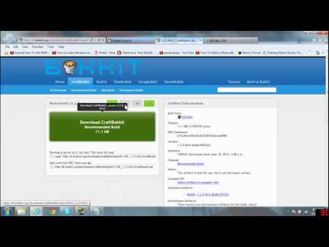 How to Make a Bukkit Minecraft server 2wire Router Port forwarding