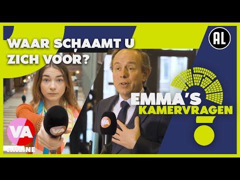 Waar schaamt politiek Den Haag zich voor? | Emma's Kamervragen #5 | De Vooravond