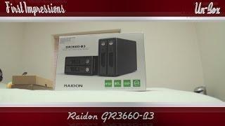 Raidon GR3660 B3 - Raid (0/1) and JBOD Drive Solution