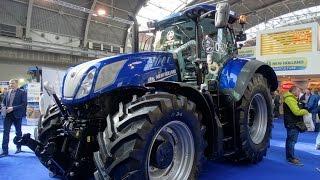 Ciągniki rolnicze i kombajny New Holland na targach  AGROTECH Kielce 2016