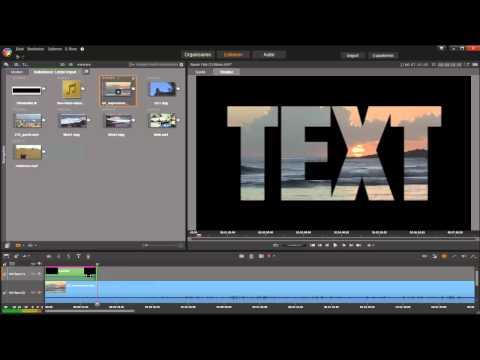 Transparenter Titel mit Chromakey Effekt in Pinnacle Studio