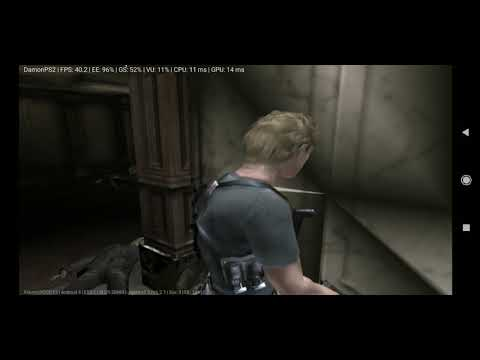 Resident Evil - Dead Aim DamonPS2 and download: PS2 BIOS Android setting