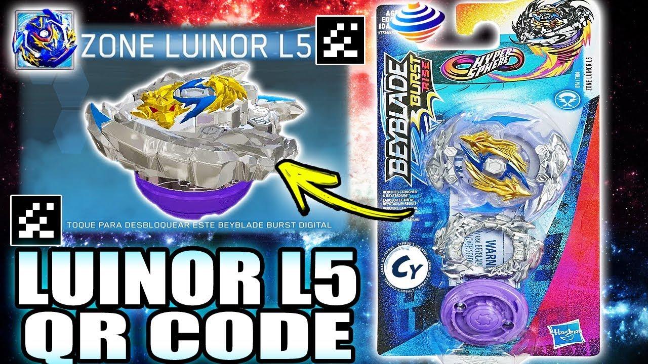 L3 Gold Luinor Beyblade Codes Burst