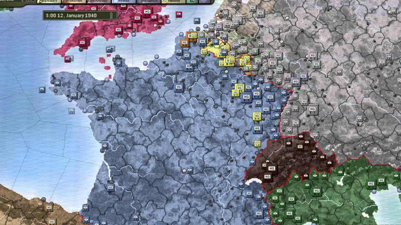 Hearts of Iron 3: Defensive Lines