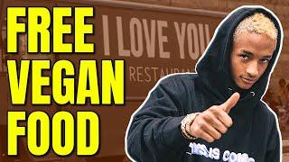 Jaden Smith Opens Free Vegan Food Truck / I Love You Restaurant