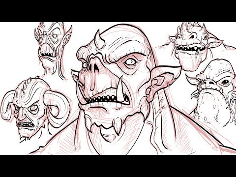 How to Draw Demons - YouTube