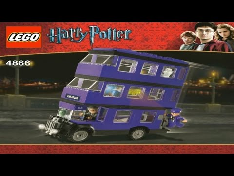 Lego Harry Potter The Knight Bus 4866 Youtube