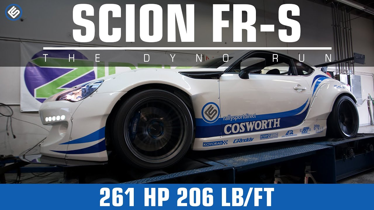 Cosworth Stage 2 Power Package Dyno   Scion FR S/Subaru BRZ   YouTube
