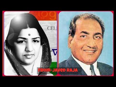 RAFI & LATA~Film~SAWAN BHADHON~{1949}~Sada Rahein Din Yehi Hamare-[78 RPM Audio ]