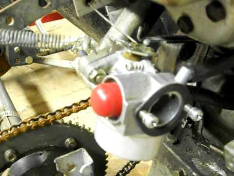 Help!! Teseh Carburetor Trouble! - YouTube