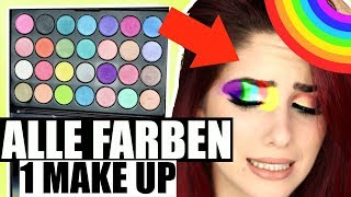 ALLE LIDSCHATTEN 1 MAKEUP?  Experiment! Luisacrashion