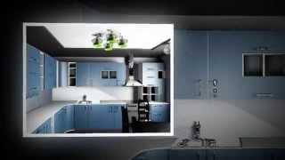 незамысловатый дизайн кухни с оптимальными решениями(, 2014-10-23T19:52:05.000Z)