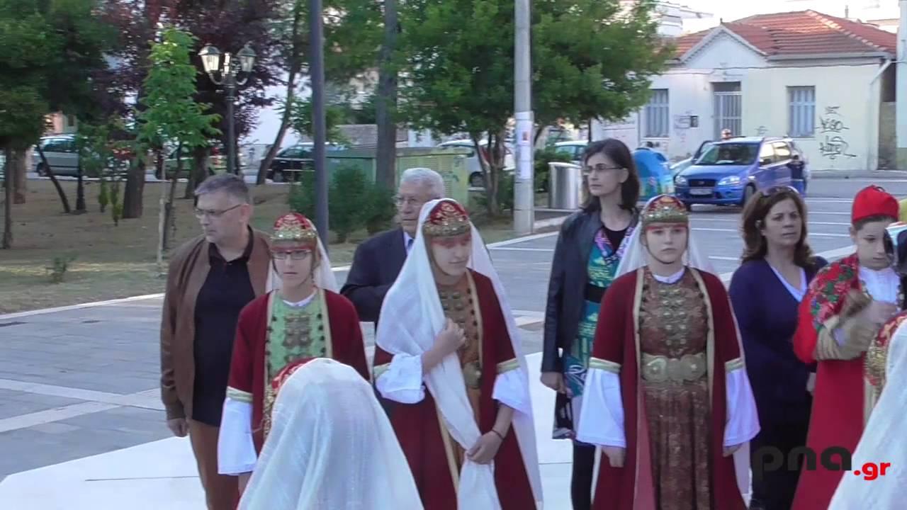 Μεταφορά των Ιερών Λειψάνων στον ιερό Ναό του Προφήτη Ηλία στην Τρίπολη