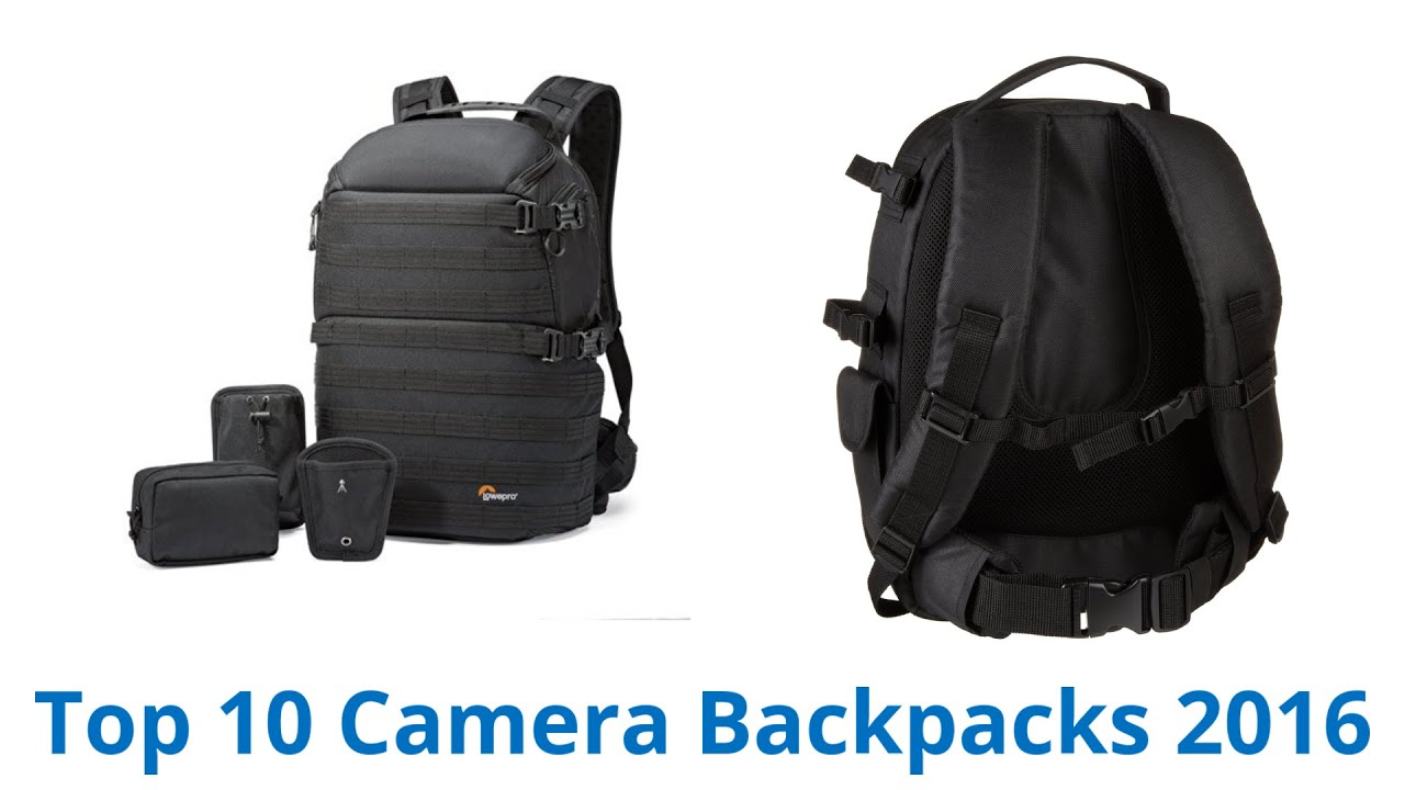 10 Best Camera Backpacks 2016 - YouTube