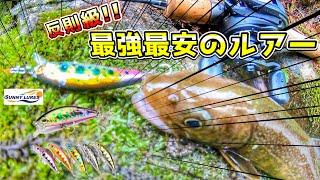 【渓流釣り】最強最安のミノーでイワナを釣る!! サニールアーズ レイクミノー コスパ
