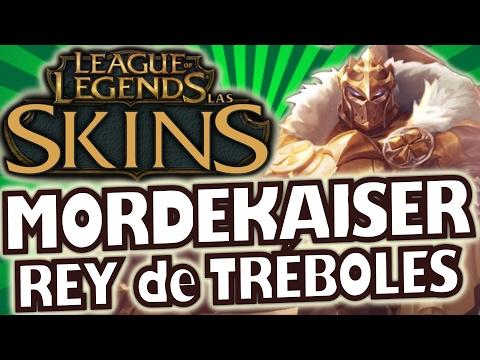 MORDEKAISER REY DE TRÉBOLES (King of Clubs Mordekaiser) /SKIN 750RP /Presentación y Cambios/LOL SKIN