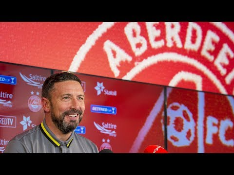 7th December 2017 - McInnes staying at Aberdeen