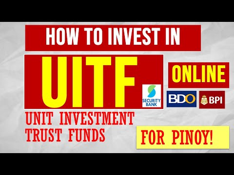 How to invest online in Philippine UITF unit investment trust fund for beginners
