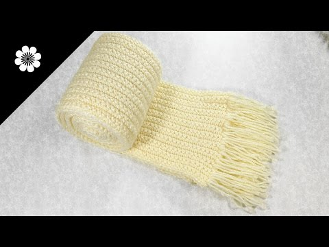 BASIC SCARF IN CROCHET (for children and adults) | Patrones Valhalla ENG