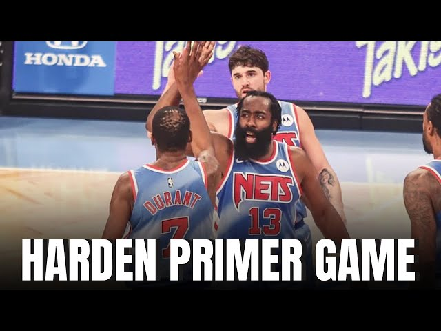 🚨 Primer Partido de James Harden Con Brooklyn NETS. 🚨 Reaccón en vivo.