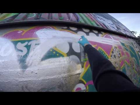 Graffiti - SOTEP - Daytime trackside