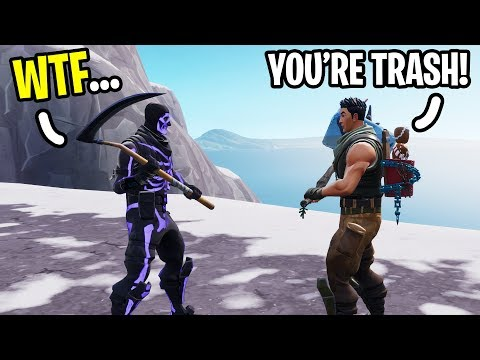 I met the most TOXIC 13 year old on Fortnite at 3am!