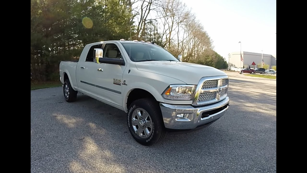 2016 ram 2500 heavy duty laramie mega cab 4x4 new ram. Black Bedroom Furniture Sets. Home Design Ideas