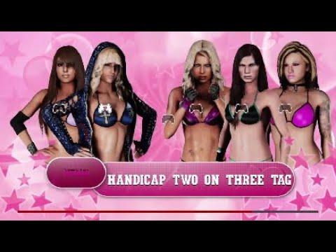 Bikini tag team