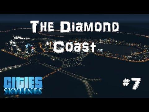 The Diamond Coast | Cities Skylines | #7 | Building Commerce