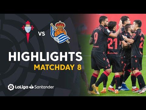 Celta Vigo Real Sociedad Goals And Highlights