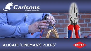09 02 240 KNIPEX Lineman's Pliers