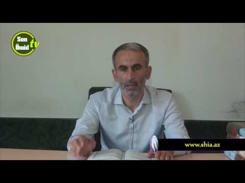 Hacı Əhliman İmam Zaman (əf) mövlud təbriki