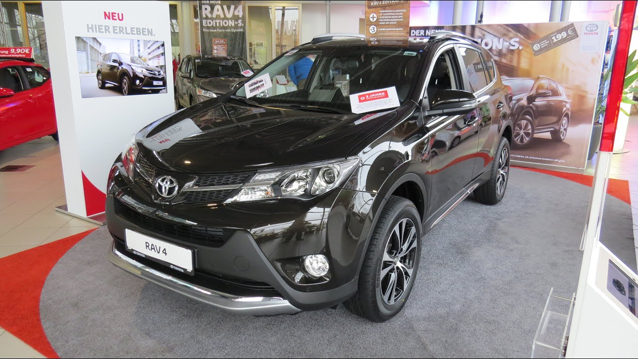2015 toyota rav4 edition s 2 2 automatic 4x4 youtube. Black Bedroom Furniture Sets. Home Design Ideas