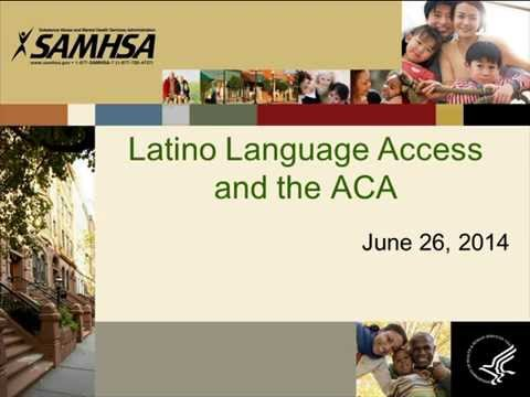 Latino Language Access and the Affordable Care Act