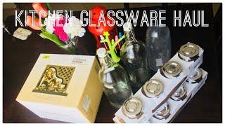 Ikea's shopping haul \\ My kitchen glassware haul    Ikea/homecenter/amazon \\ ikea hyderabad