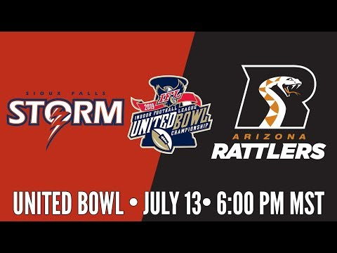2019 United Bowl | Sioux Falls Storm at Arizona Rattlers (Storm Audio)