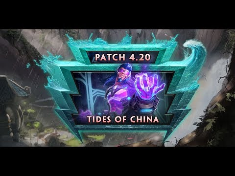 SMITE Patch Notes 4.20 - Tides of china